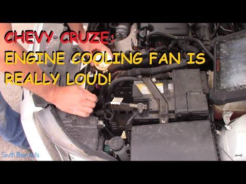 Chevrolet Cruze: Cooling Fan Is REALLY LOUD!
