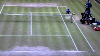 Andy Murray Dive Volley Vs Djokovic Olympics 2012
