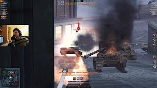 WoT Blitz - Максимальный ЭКШН и максимальное терпение за 2 боя  - World of Tanks Blitz (WoTB)