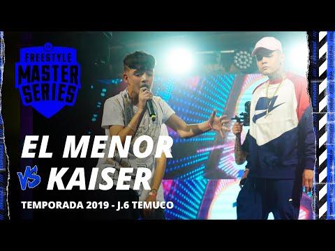 EL MENOR VS KAISER FMS CHILE JORNADA 6 OFICIAL
