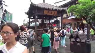 杭州西湖旁清河坊街 胡慶餘堂國藥號 江南朱家銅屋