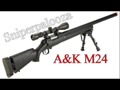 SNIPERPALOOZA PART I   M24 sniper rifle