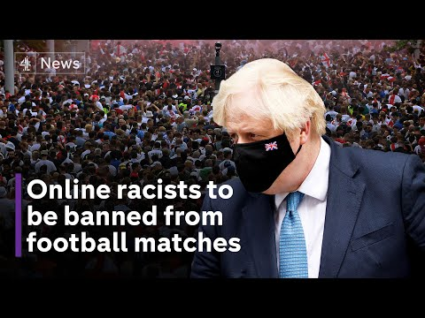 Social media racists to be barred from football matches, says Johnson