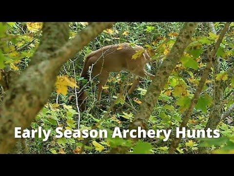 Illinois PUBLIC LAND Early ARCHERY Season Hunts