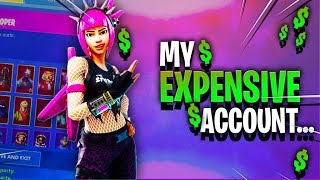 My Expensive Fortnite Account..... (Skins i regret buying..)