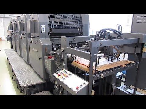 4-color Heidelberg MOVPH - used offset printing machine