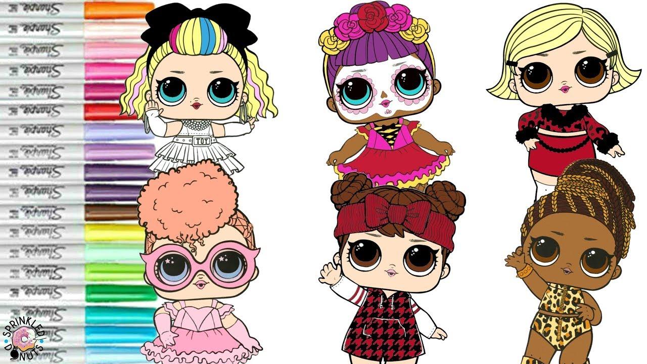 Lol Surprise Dolls Coloring Book