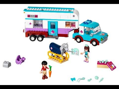 Lego Friends Pferdeanhänger Und Tierärztin 41125 Präsentiert Von Www