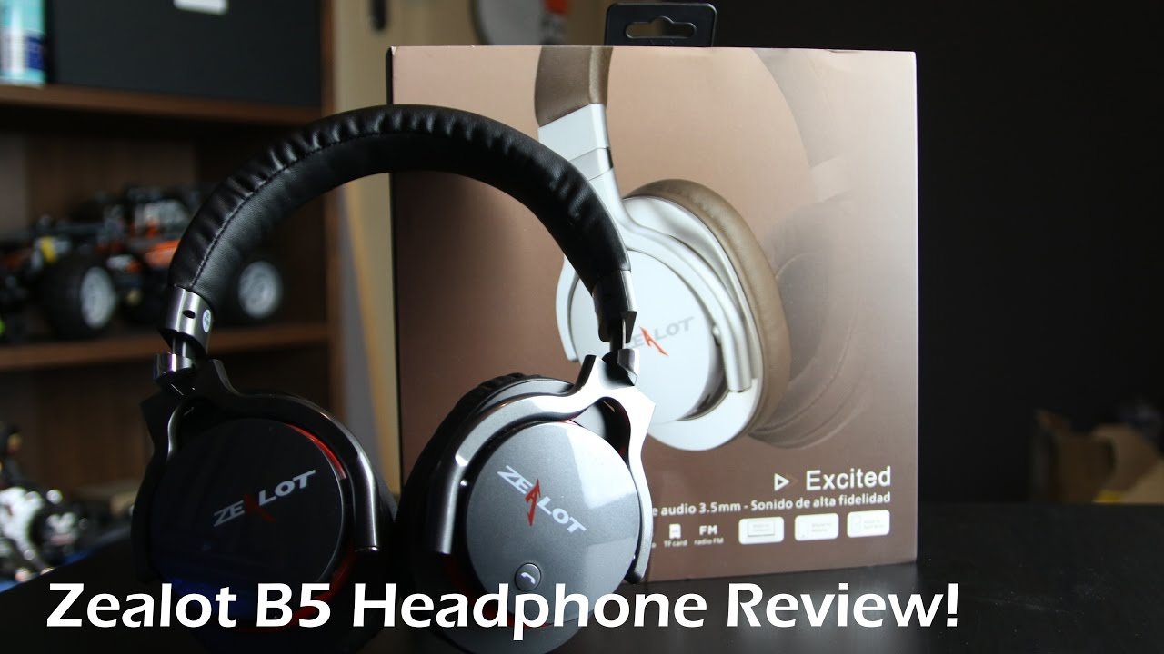 0b04c932ff3 Zealot B5 Bluetooth Headphone Review! - YouTube