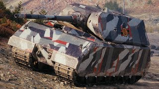 World of Tanks Maus - 11 Kills 10,2K Damage (1 VS 5)
