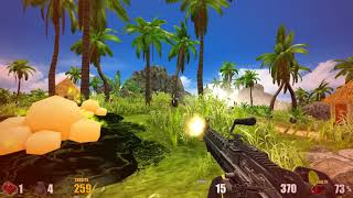 Action Alien: Tropical Mayhem PC gameplay - Low budget Serious Sam-Far Cry?