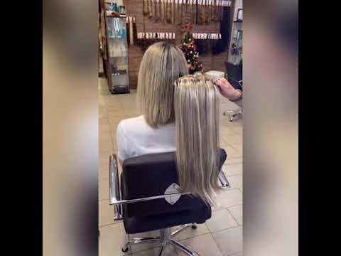 Как надеть искусственные волосы,чтобы они выглядели как натуральные !