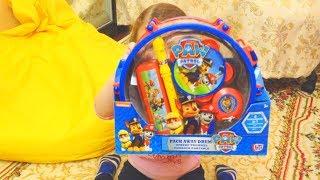 Распаковка Щенячий Патруль Музыкальные инструменты Распаковка и обзор игрушек Paw Patrol