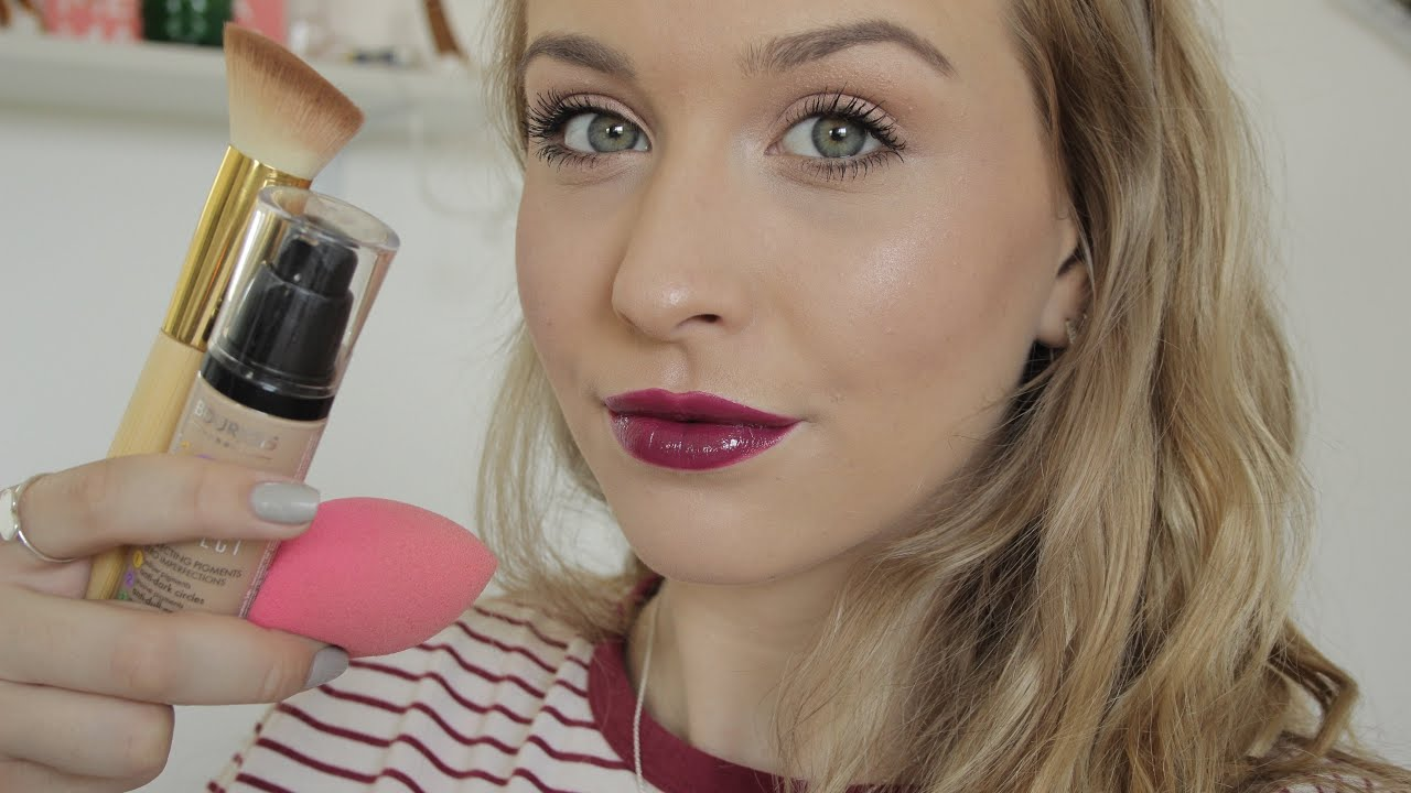 123 perfect bourjois foundation first impression mimesmakeup youtube. Black Bedroom Furniture Sets. Home Design Ideas