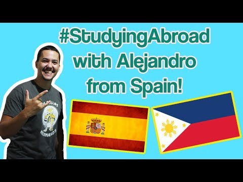 [Study English in the Philippines] Spanish Student Alejandro's Colorful Life in Cebu Blue Ocean