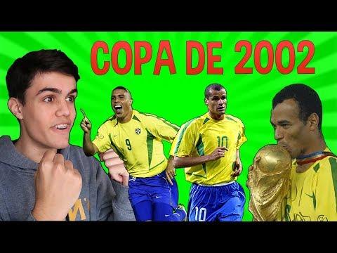 A INCRÍVEL HISTÓRIA DA COPA DO MUNDO DE 2002!!