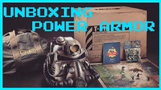 Fallout 76 POWER ARMOR édition UNBOXING