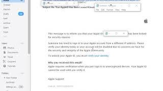 Scam/Phishing: Your AppleID Has Been Lοсκеd ICloud E-mail