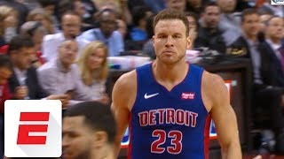 Angry Blake Griffin gets called for technical foul | ESPN