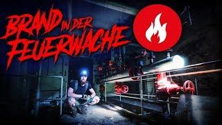 BRAND in der FEUERWACHE - verlassene Feuerwehr - LOST PLACES | Fritz Meinecke