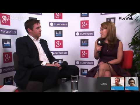 LeWeb'13 Paris - Hangout with Dina Kaplan, Co-Founder Blip