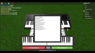 ROBLOX Piano video | Believer by Imagine dragons + Sheets