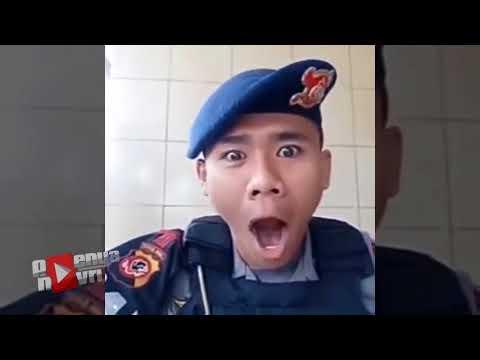 Parody Polisi dan TNI Ngopi WOY Ngopi...