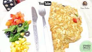 Spanish Omelette Recipe // How To Make BEST Breakfast Omelette Recipe // BY PREETI SEHDEV