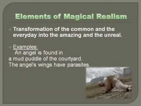 Literature magical realism lesson