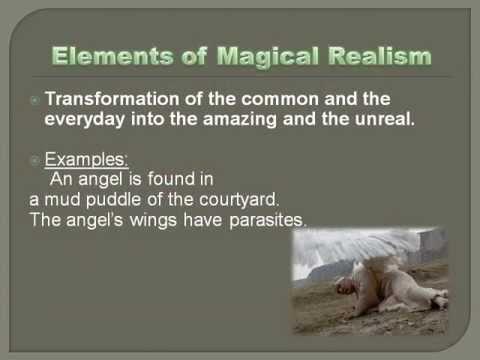 Literature magical realism lesson