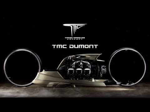 TMC Dumont - A MOTO COM MOTOR DE AVIÃO