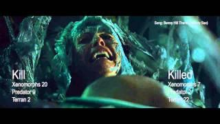 Kill Count AVPR (Aliens vs Predator - Requiem)