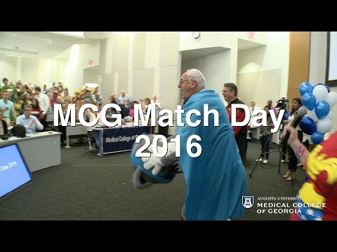 The Medical College of Georgia MATCH DAY 2016