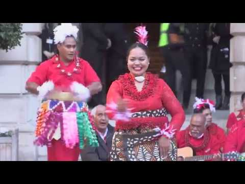 Oceania opening procession and performances