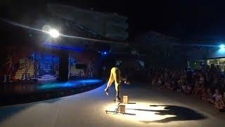 Шоу Акробатов в Турции отель Timo Resort Hotel 5* Александр Догадин