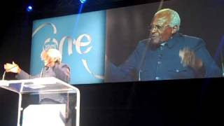 OYW 2010 Desmond Tutu speaking at One Young World