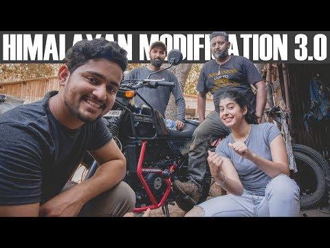 Himalayan Modification Vlog | A4 Moto Designs | Mumbai | Bike Accessories | #WhereDoWeGoNow