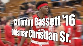 Dontay Bassett '16, Oldsmar Christian Senior at 2015 UA Holiday Classic