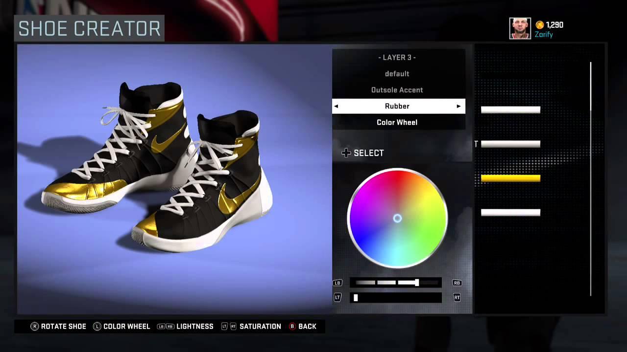 innovative design 668ef 594f5 NBA 2K16 Shoe Creator - Nike Hyperdunk 2015