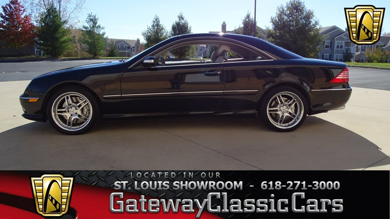 2004 mercedes benz cl55 amg stock 7106 gateway classic. Black Bedroom Furniture Sets. Home Design Ideas