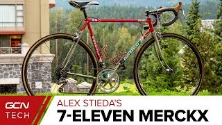 Original 7-Eleven Merckx Team Bike | Alex Stieda's Retro-Modern Masterpiece