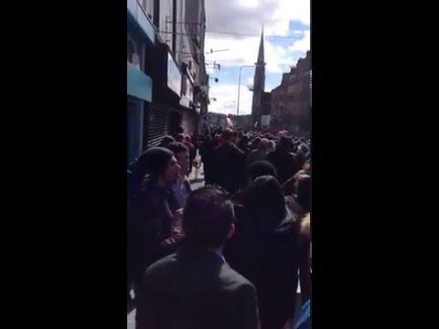 EasterRising Commemoration Parade Start - 2016 Dublin, Ireland