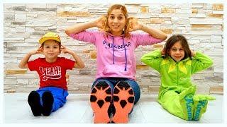 Head Shoulders Knees and Toes - Nursery rhymes & Kids Songs