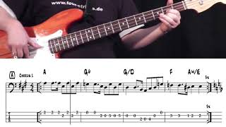 James Jamerson Bassline - You keep me hanging on (Diana Ross & The Supremes)