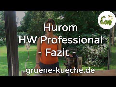 Hurom HW Professional - Reinigung und Fazit