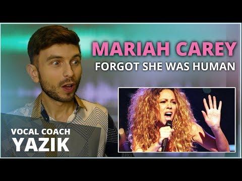 Vocal Coach YAZIK reacts to 10 Times Mariah Carey FORGOT She Was Human!