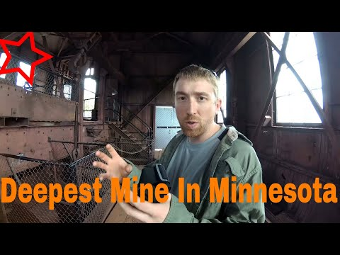 Deepest Iron Ore Mine In Minnesota In 4k