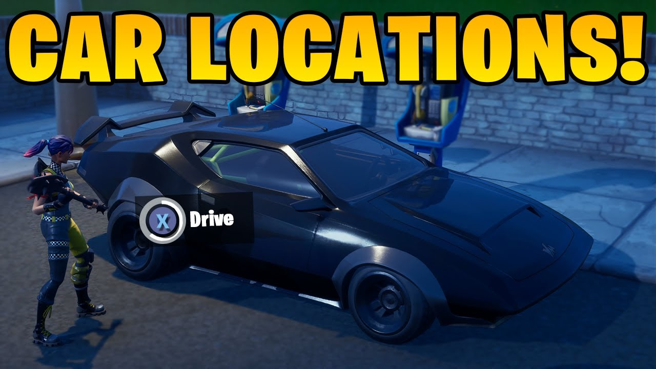 Fortnite Finally Has Cars Here S Your Guide On Where To Find Drive Them Sporting News Certain radio stations such as party royale can play music. fortnite finally has cars here s your