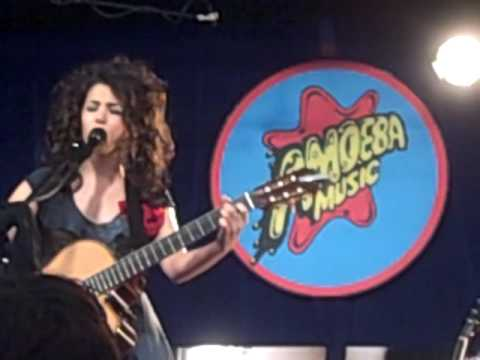 "Katie Melua Performs ""Mary Pickford"" @ Amoeba Music (Hollywood, CA)"