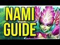 Nami Challenger Champion Guide | How to Play Nami Season 8 - League of Legends